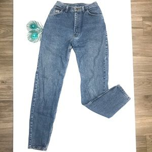 Wrangler VTG Blue Denim High Waisted Mom Jeans